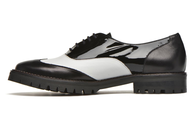Chaussures à lacets MAURICE manufacture Plutarco Noir vue face