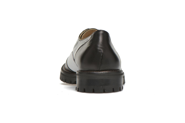 Chaussures à lacets MAURICE manufacture Plutarco Noir vue droite