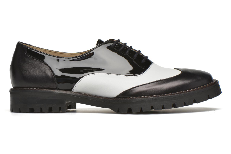 Chaussures à lacets MAURICE manufacture Plutarco Noir vue derrière