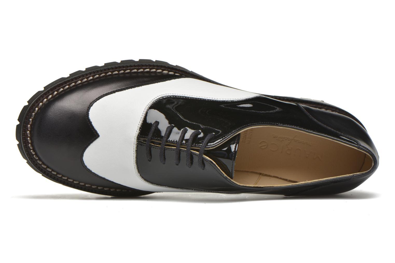 Chaussures à lacets MAURICE manufacture Plutarco Noir vue gauche