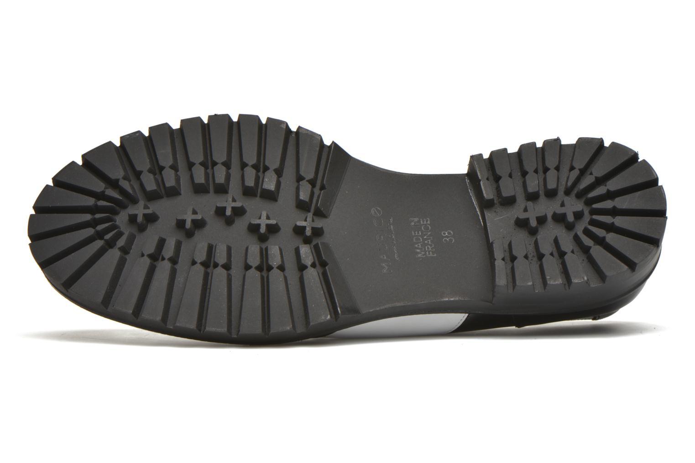 Chaussures à lacets MAURICE manufacture Plutarco Noir vue haut