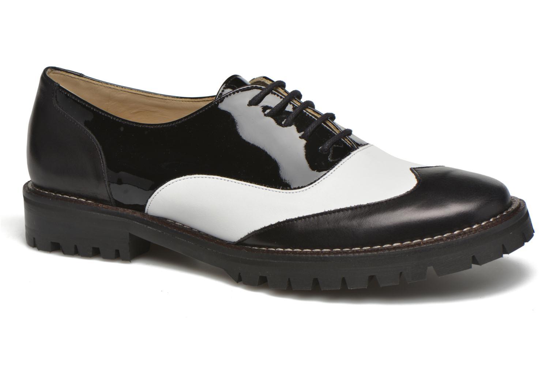 Chaussures à lacets MAURICE manufacture Plutarco Noir vue détail/paire
