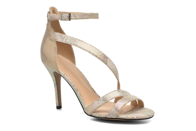 Sandales et nu-pieds Divine Factory Flufia Beige vue détail/paire