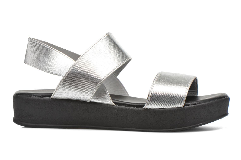 Sandales et nu-pieds Divine Factory Elano Argent vue derrière