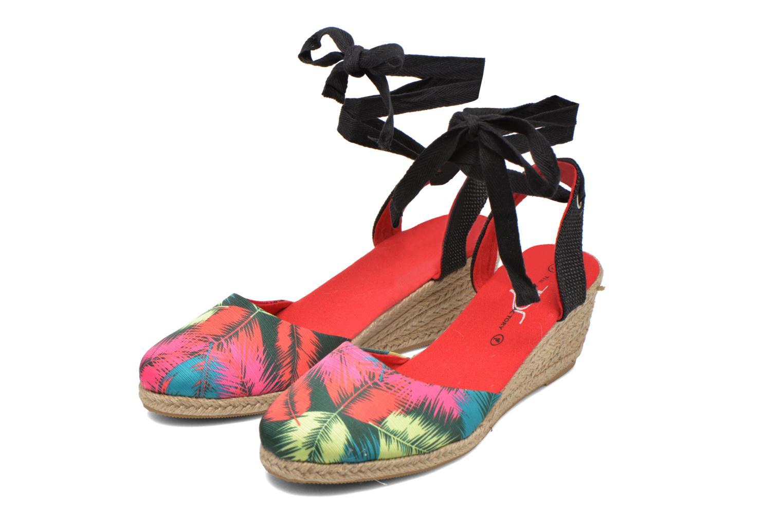 Sandales et nu-pieds Divine Factory Keirel Multicolore vue 3/4