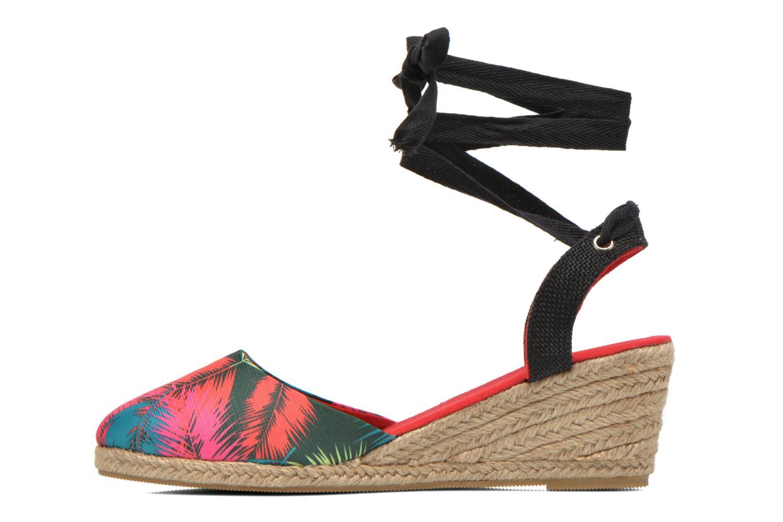 Sandales et nu-pieds Divine Factory Keirel Multicolore vue face