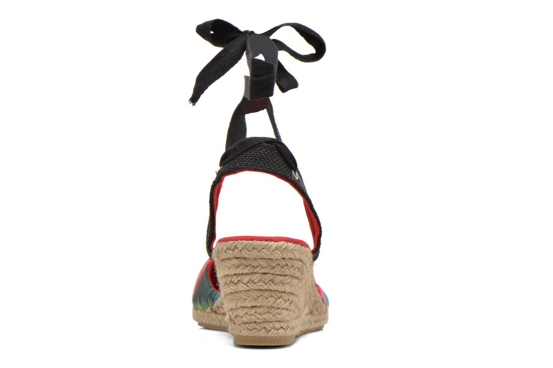 Sandales et nu-pieds Divine Factory Keirel Multicolore vue droite
