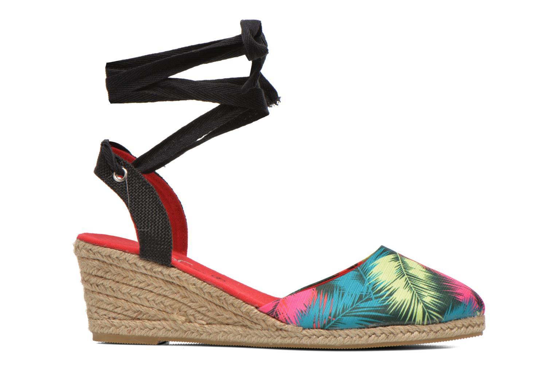 Sandales et nu-pieds Divine Factory Keirel Multicolore vue derrière