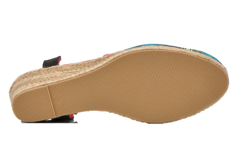 Sandales et nu-pieds Divine Factory Keirel Multicolore vue haut
