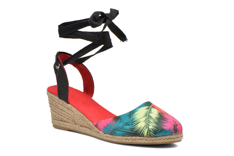 Sandales et nu-pieds Divine Factory Keirel Multicolore vue détail/paire