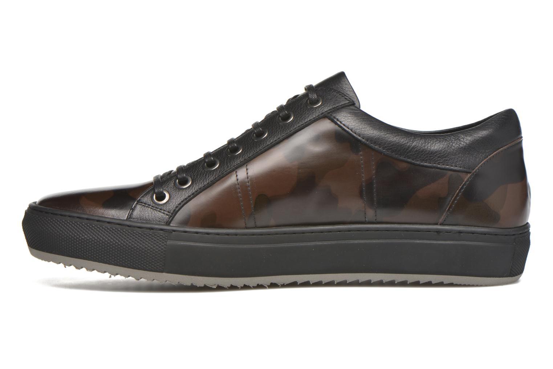 Sneaker Karl Lagerfeld Karlito schwarz ansicht von vorne