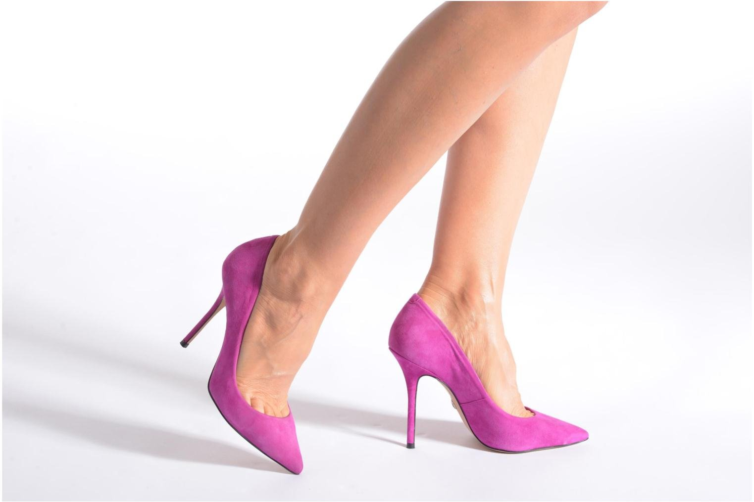 High heels Buffalo Manel Pink view from underneath / model view