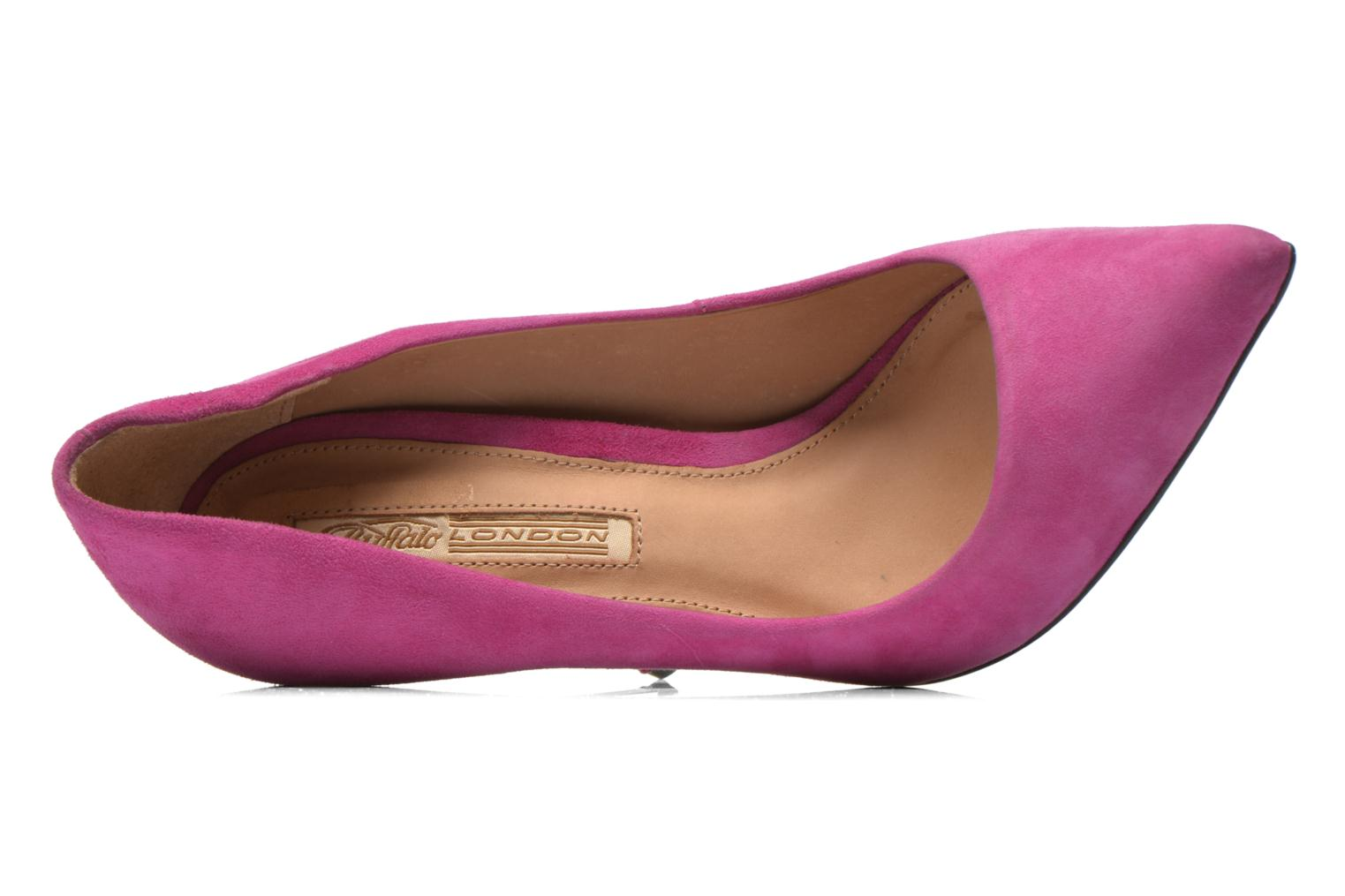 High heels Buffalo Manel Pink view from the left