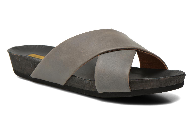 Clogs & Pantoletten Buffalo Gabriella grau detaillierte ansicht/modell