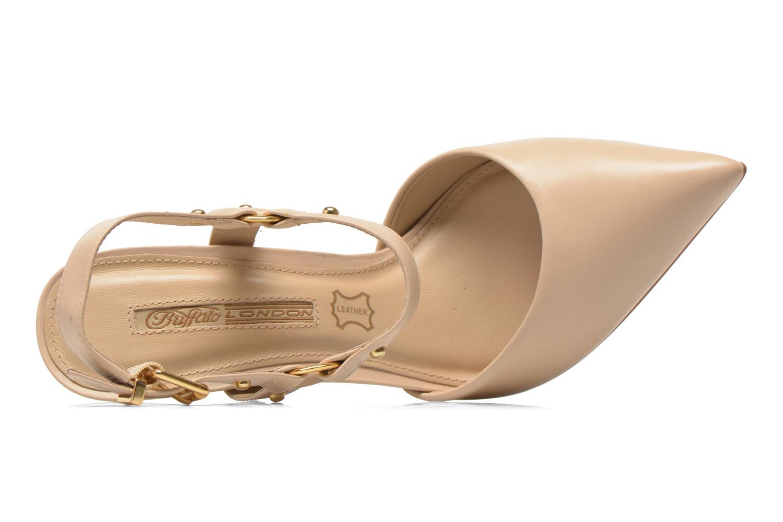 Zapatos de tacón Buffalo Loea Beige vista lateral izquierda
