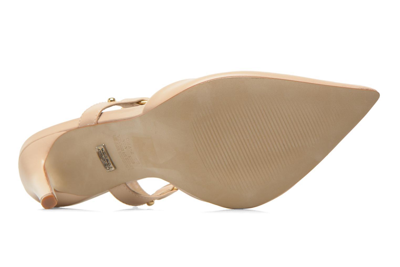 Zapatos de tacón Buffalo Loea Beige vista de arriba