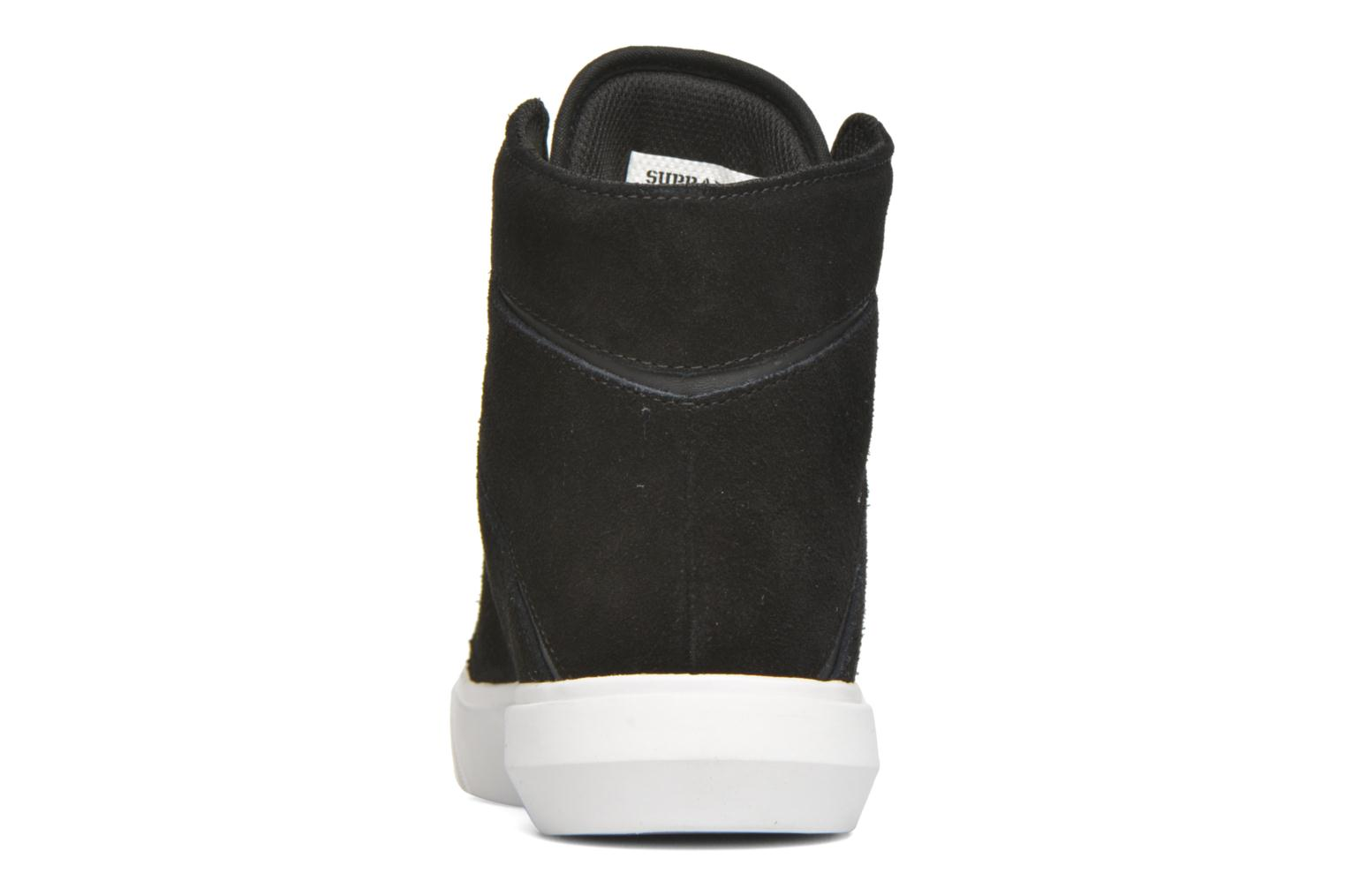 Trainers Supra Camino Black view from the right