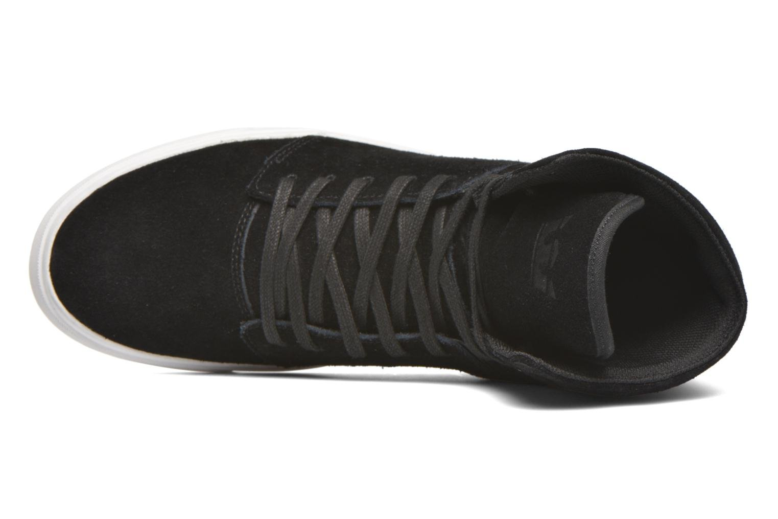Trainers Supra Camino Black view from the left