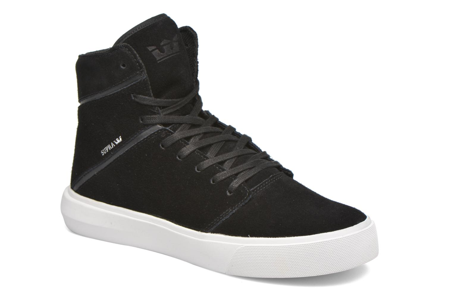 Trainers Supra Camino Black detailed view/ Pair view