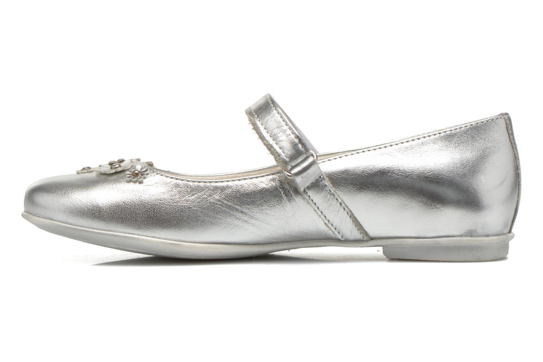 Ballerinas Primigi Shaula silber ansicht von vorne