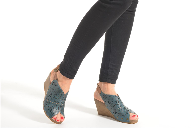 Sandales et nu-pieds Pikolinos Benissa 868-9342 Vert vue bas / vue portée sac