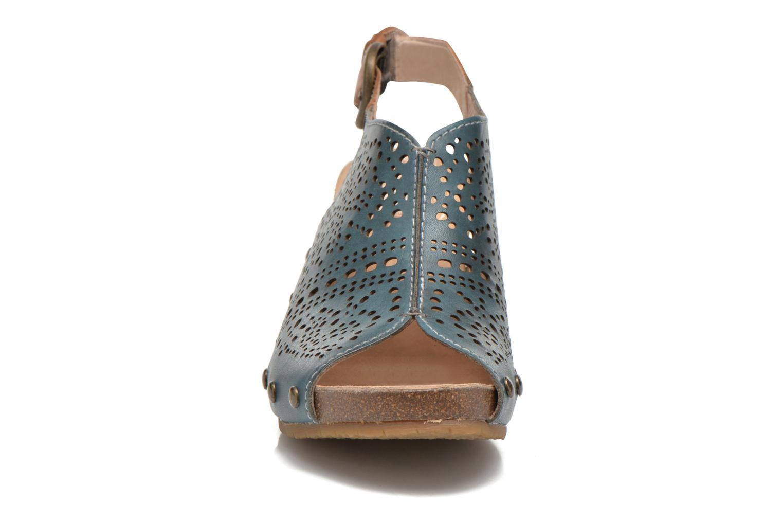 Sandales et nu-pieds Pikolinos Benissa 868-9342 Vert vue portées chaussures