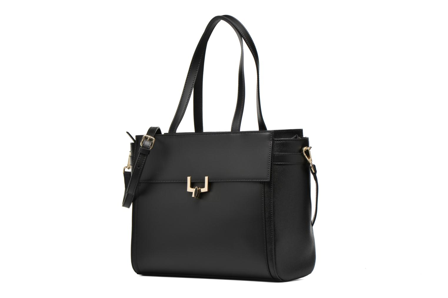 Handbags Minelli MC 904 Porté épaule Black model view