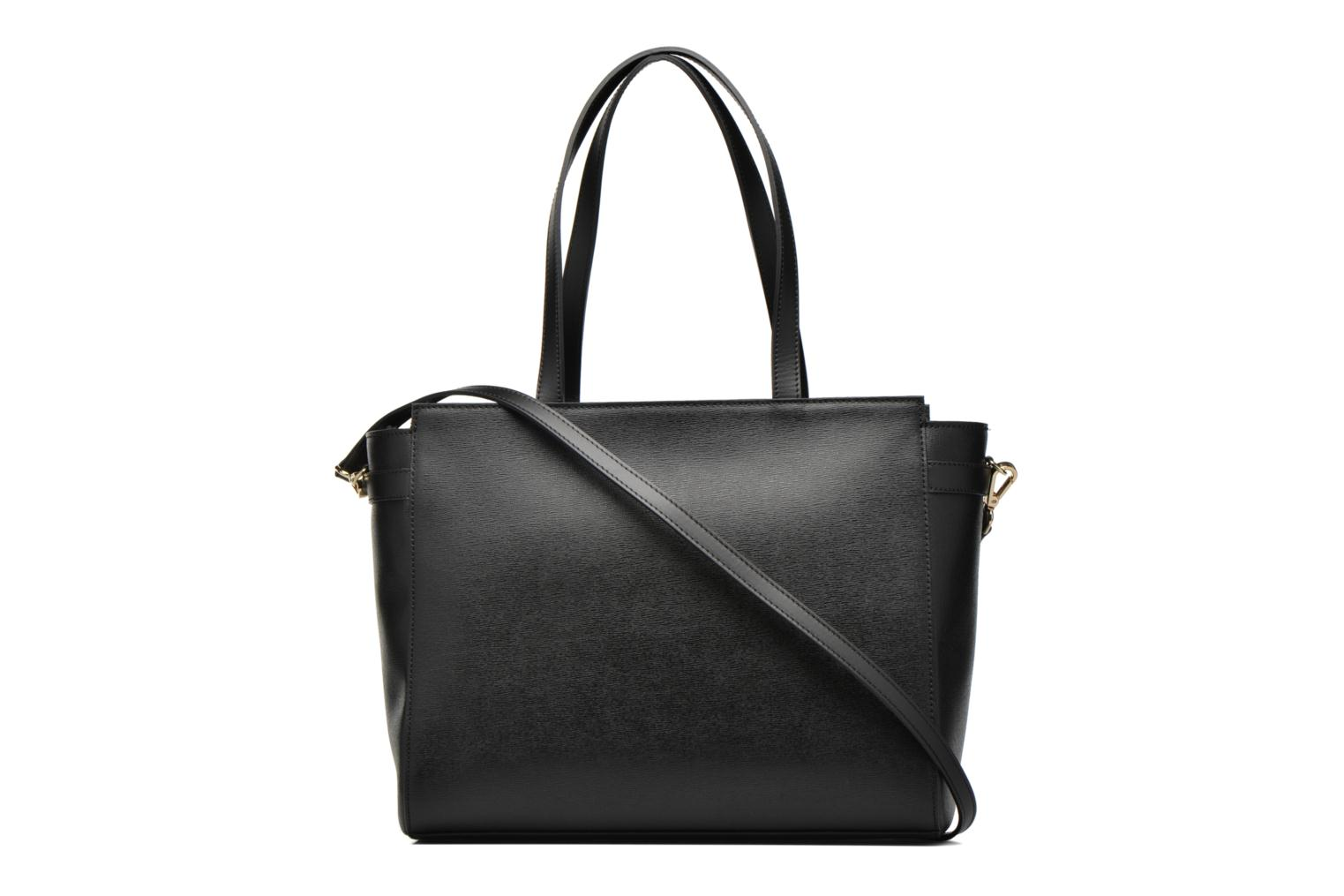 Handbags Minelli MC 904 Porté épaule Black front view