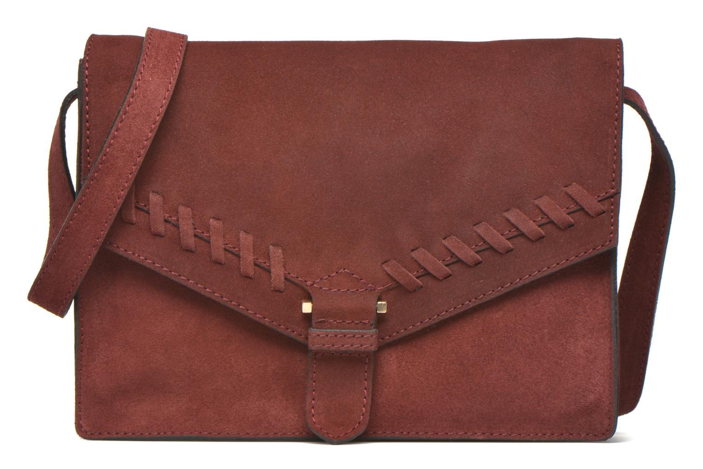 Handväskor Minelli MC 909/VEL Porté travers Vinröd detaljerad bild på paret