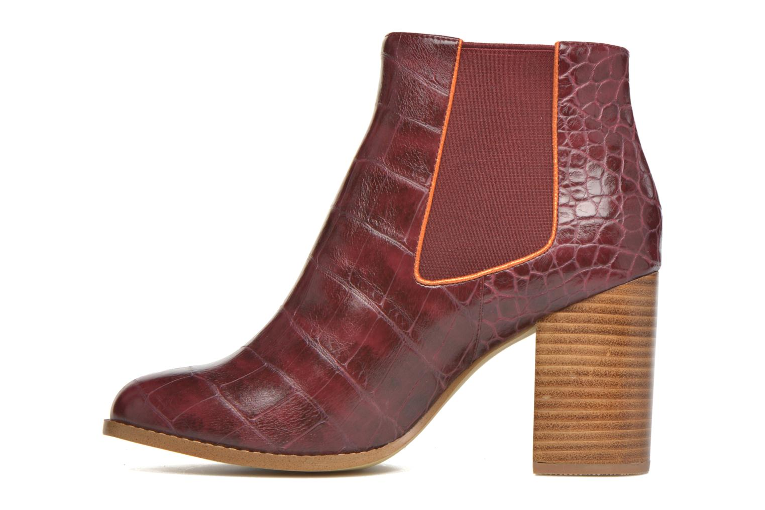 Bottines et boots Mellow Yellow Alexane Bordeaux vue face