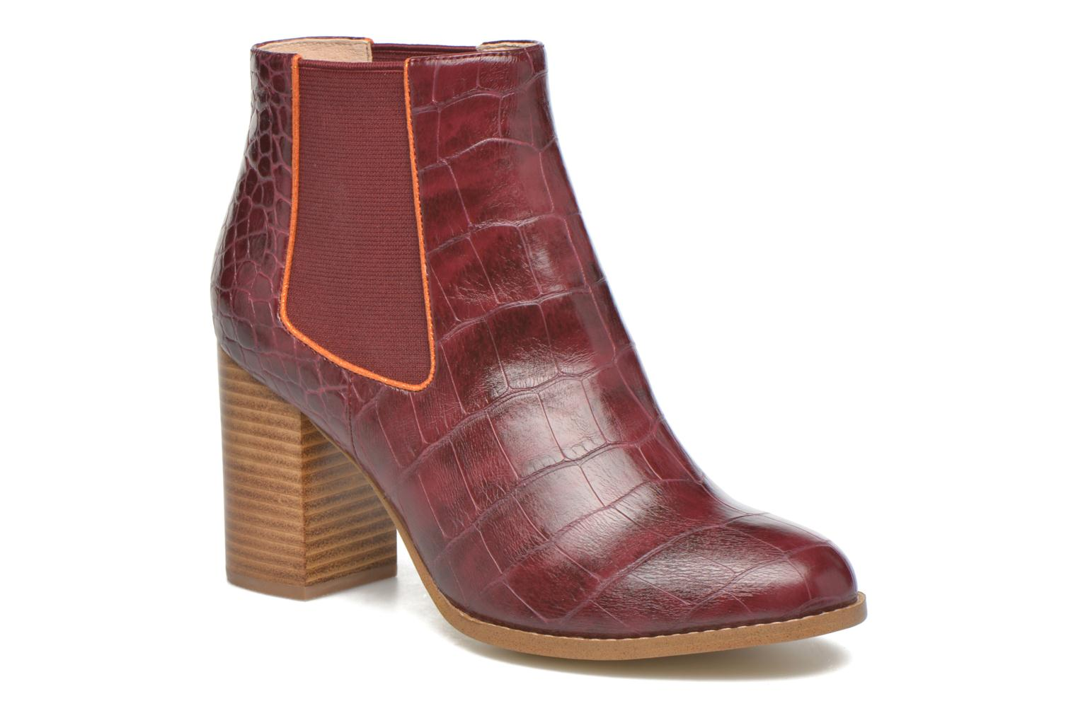 Mellow Yellow Alexane (Bordeaux) - Bottines et boots chez Sarenza (272913)