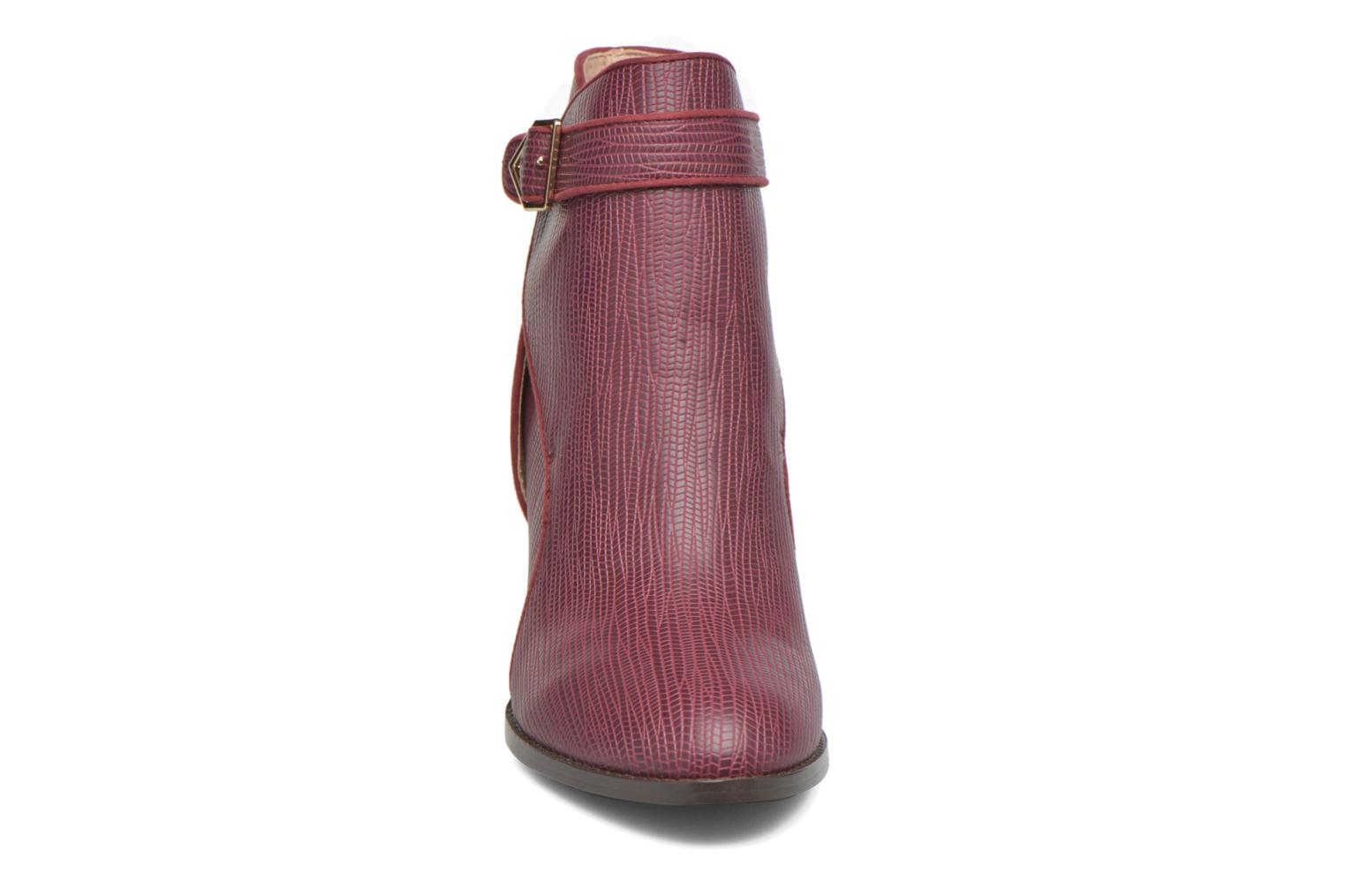 Ankle boots Mellow Yellow Alida Burgundy model view