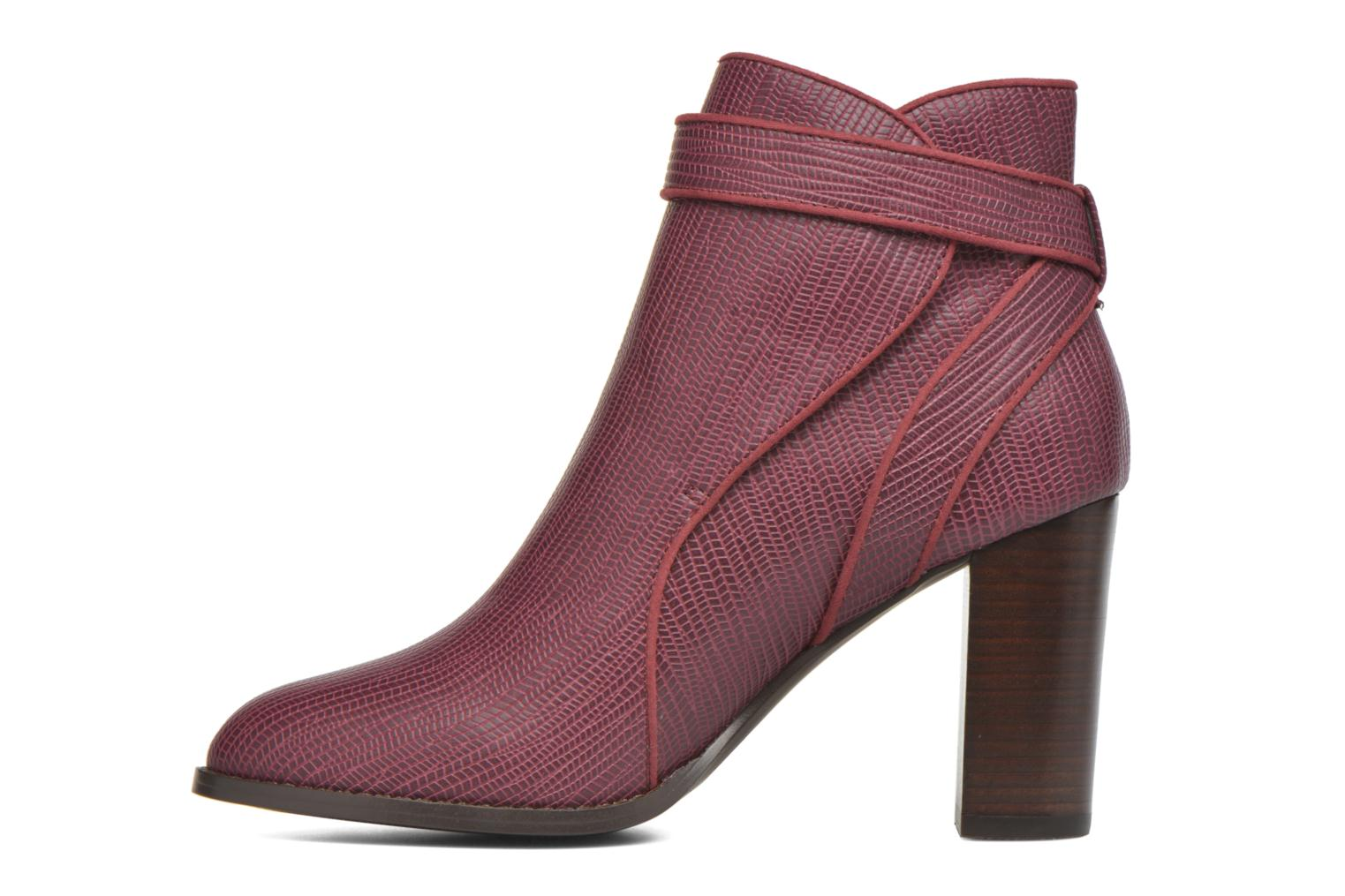 Ankle boots Mellow Yellow Alida Burgundy front view