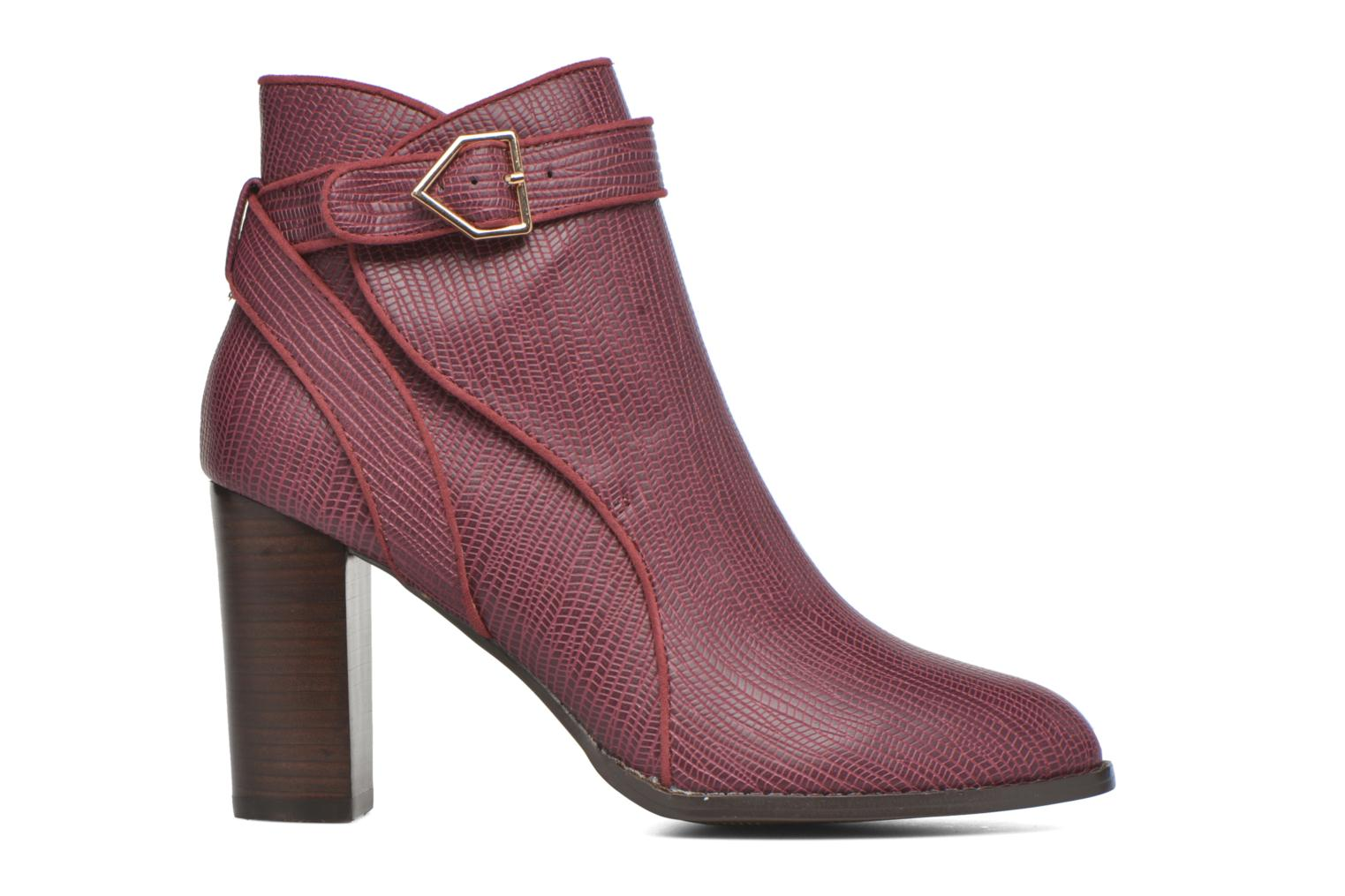Ankle boots Mellow Yellow Alida Burgundy back view