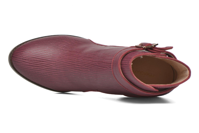 Bottines et boots Mellow Yellow Alida Bordeaux vue gauche