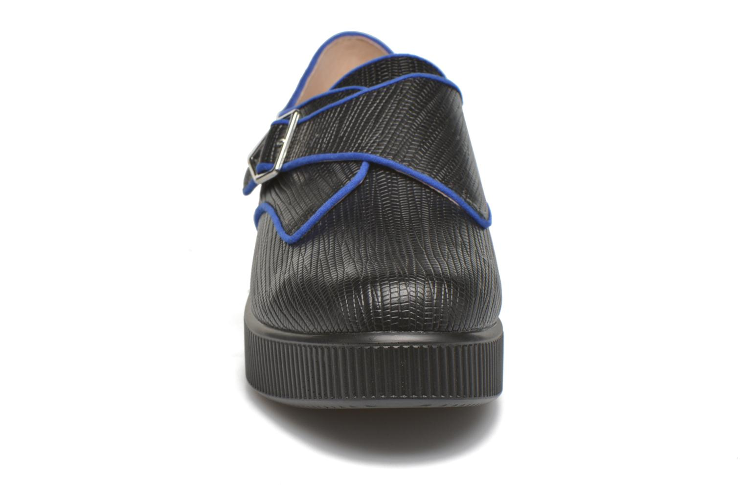 Loafers Mellow Yellow Alidel Black model view