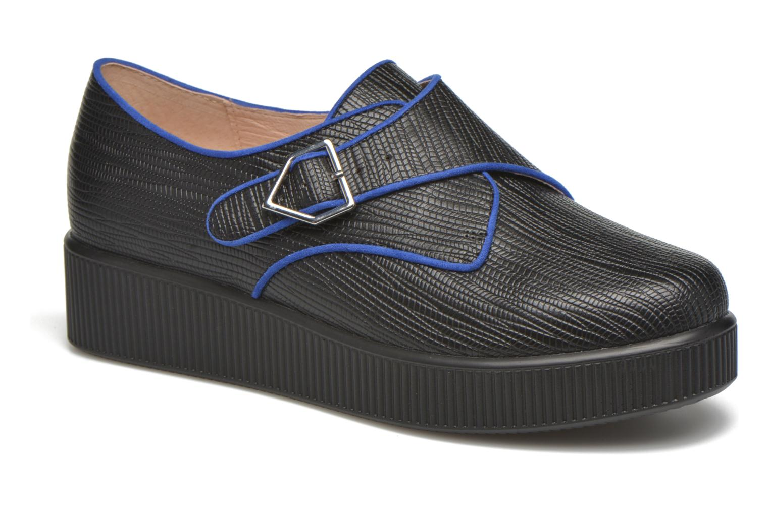 Loafers Mellow Yellow Alidel Black detailed view/ Pair view