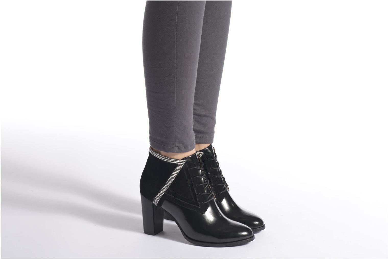 Stiefeletten & Boots Mellow Yellow Alizelle schwarz ansicht von unten / tasche getragen