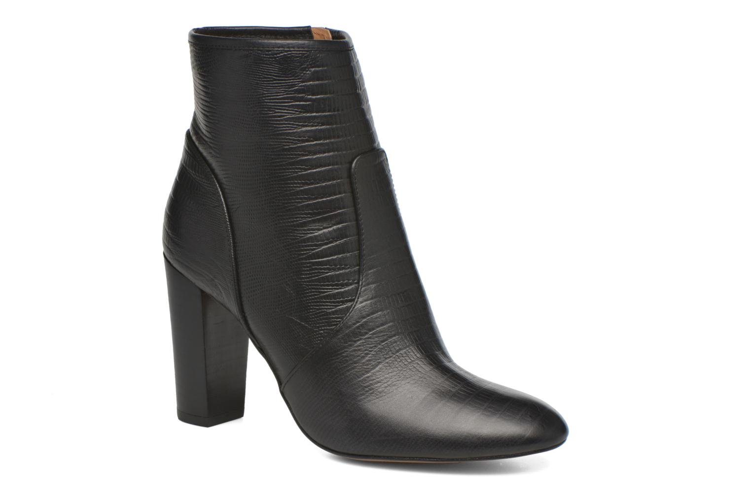 Ankle boots Mellow Yellow Anamaria Black detailed view/ Pair view