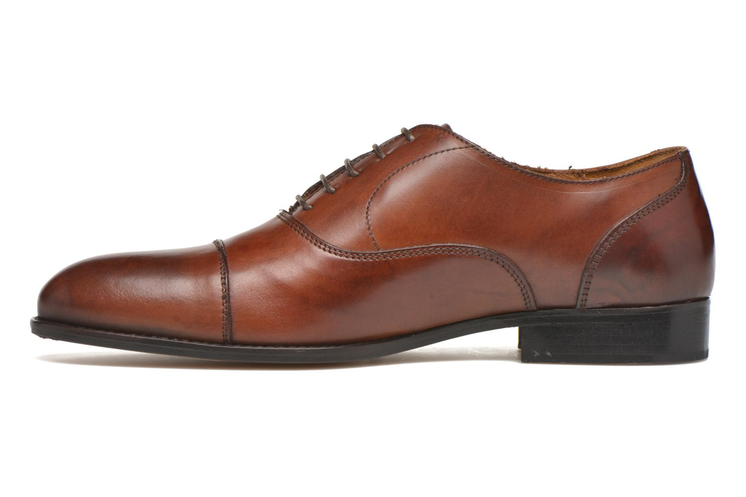 Chaussures à lacets Marvin&Co Nympsfield Marron vue face