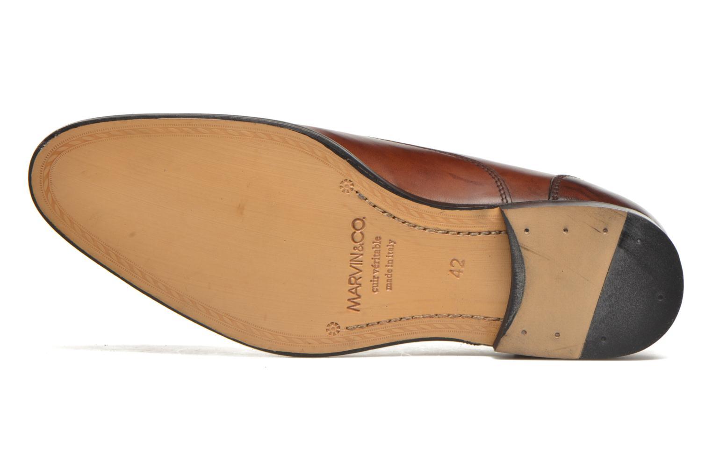 Scarpe con lacci Marvin&Co Nympsfield Marrone immagine dall'alto