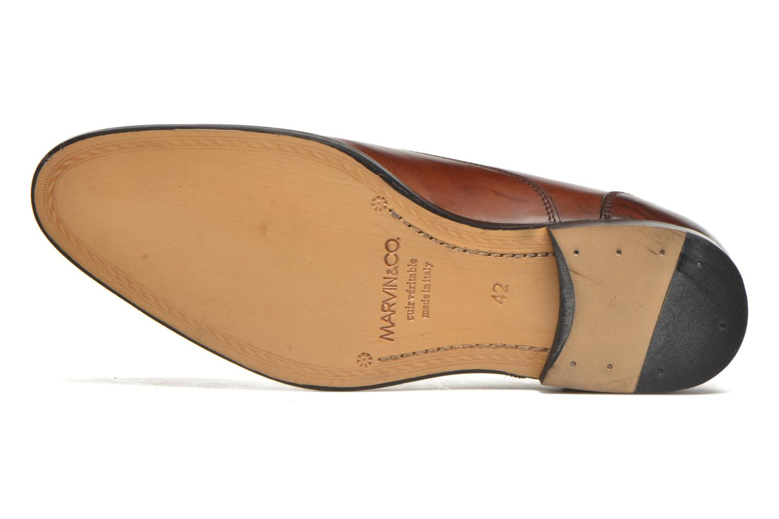 Lace-up shoes Marvin&co Nympsfield Brown view from above