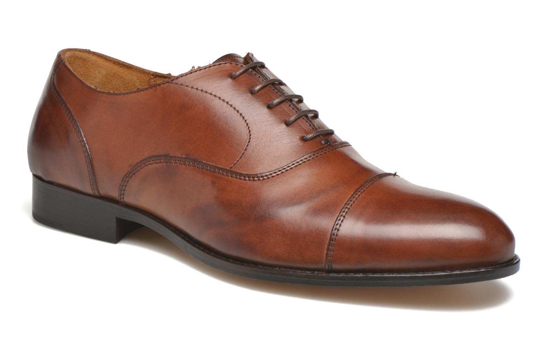 Chaussures à lacets Marvin&Co Nympsfield Marron vue détail/paire