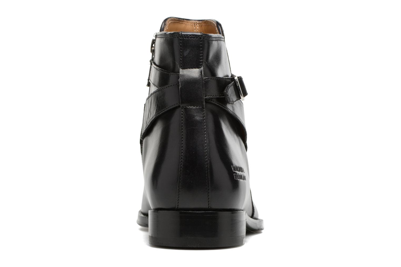 Bottines et boots Melvin & Hamilton Kane 1 Noir vue droite