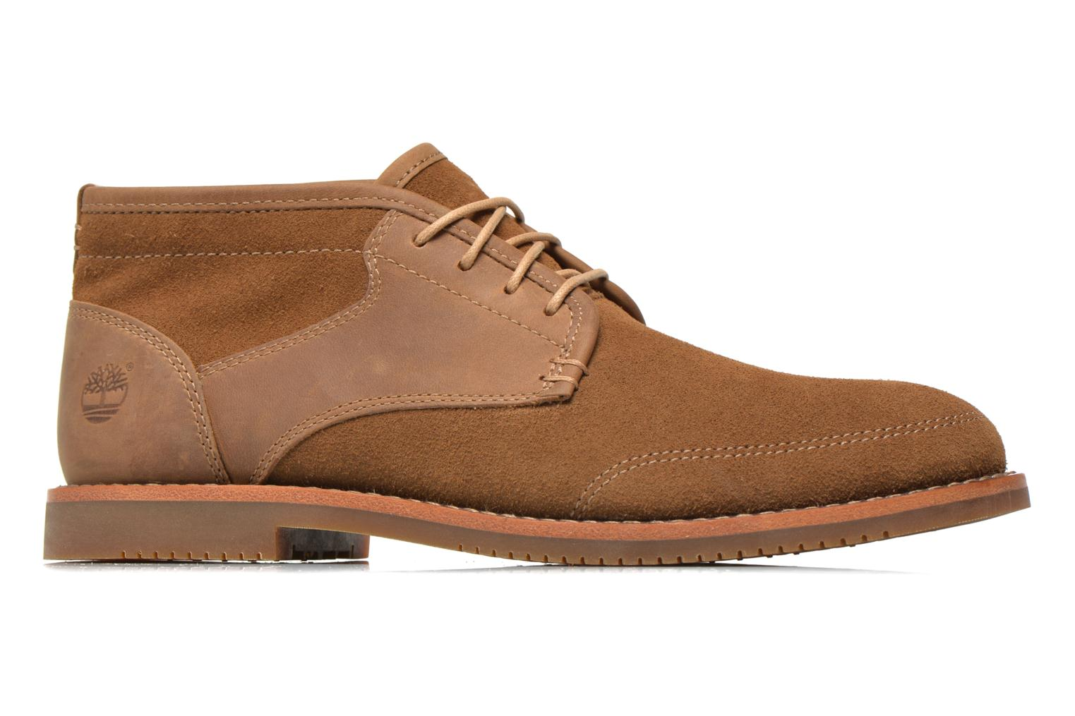 Chaussures à lacets Timberland Brooklyn Park Leather Ox High Marron vue derrière