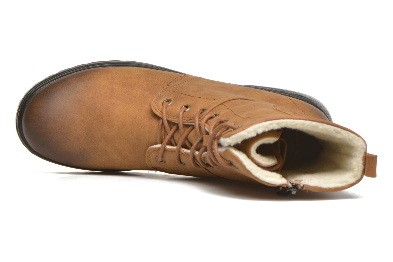 Zapatillas de deporte Kimberfeel Rangers Beige vista lateral izquierda