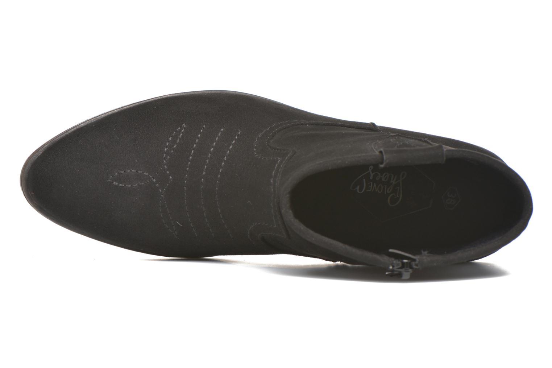 Botines  I Love Shoes THOVE Negro vista lateral izquierda