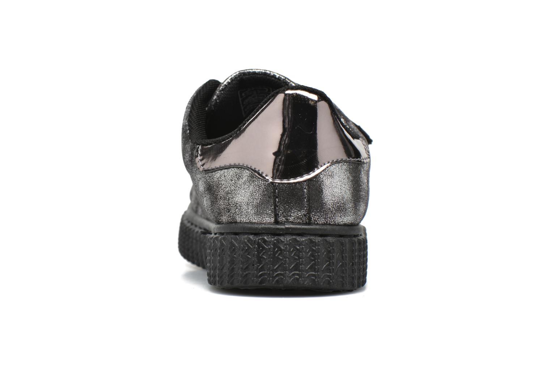 Baskets I Love Shoes THEVI Argent vue droite