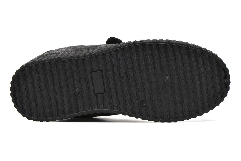 Baskets I Love Shoes THEVI Argent vue haut