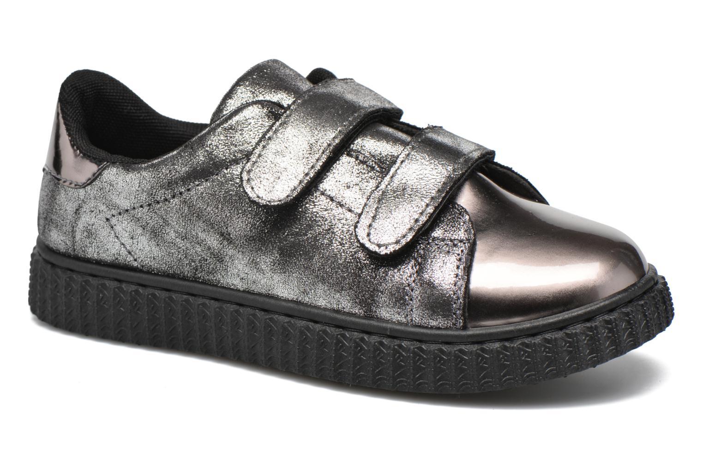 Baskets I Love Shoes THEVI Argent vue détail/paire